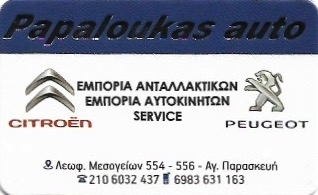 Papaloukas Auto Συνεργείο Αυτοκινήτων - Φανοποιείο